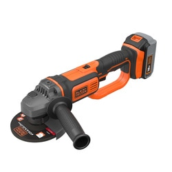 BLACK+DECKER - Meuleuse dangle 125mm 18V 40Ah - BCG720M1