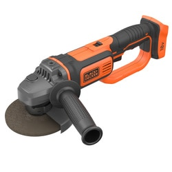 BLACK+DECKER - Meuleuse dangle 125mm 18V sans batterie - BCG720N