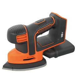 Black and Decker - 18V Mouse Detail accuschuurmachine zonder accu en lader - BDCDS18N