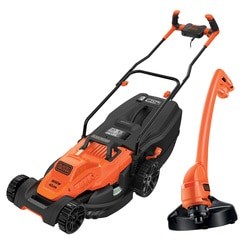 Black and Decker - 1800W 42cm Grasmaaier met Bikehandle handgreep  250W Strimmer - BEMW481BGL2