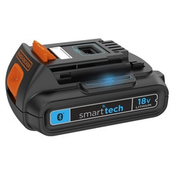 BLACK+DECKER - 18V batterie smart tech 15Ah - BL1518ST