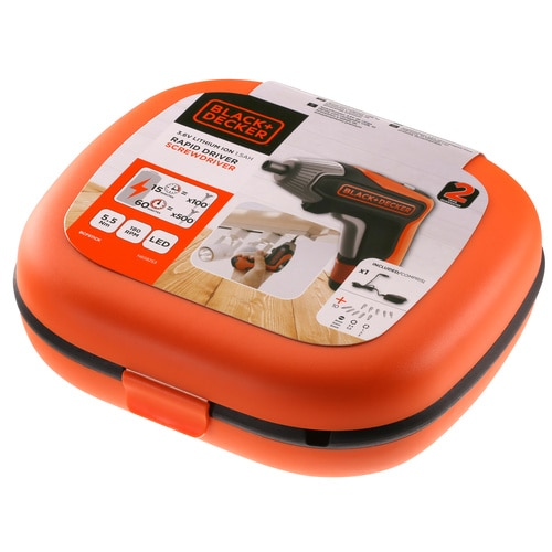 Black and Decker - 36V Rapid Schroevendraaier - BCF611CK