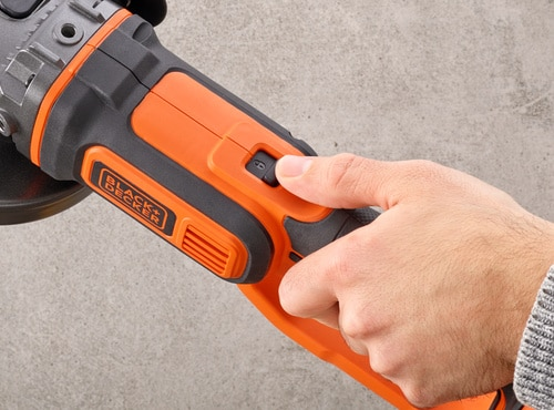 Black and Decker - 18V Haakse slijpr op accu 40Ah - BCG720M1