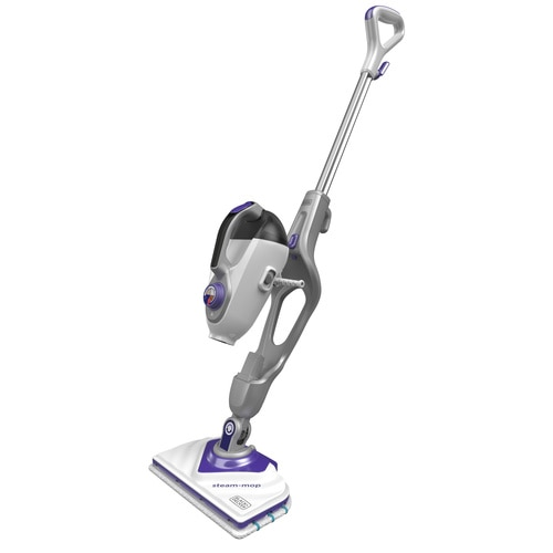 Black and Decker - 1600W Steammop met SteaMitt deltavoet en 17 accessoires - BHSM1615DSM