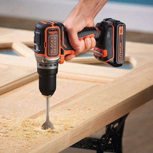 Black and Decker - 18V Lithiumion Brushless 2 Gear Cordless Drill Driver without battery and charger - BL186N