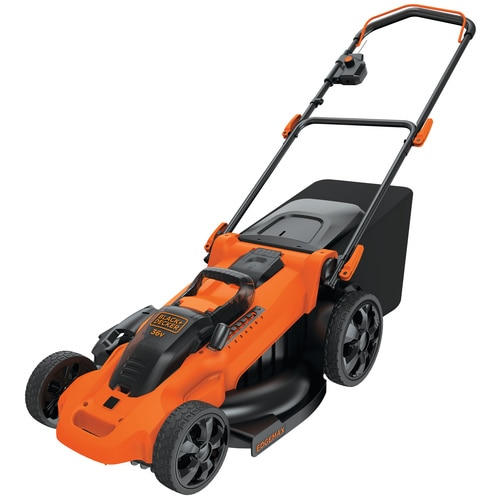 Black and Decker - 36V 25Ah 48cm Autosense Grasmaaier met 2 accus - CLMA4825L2
