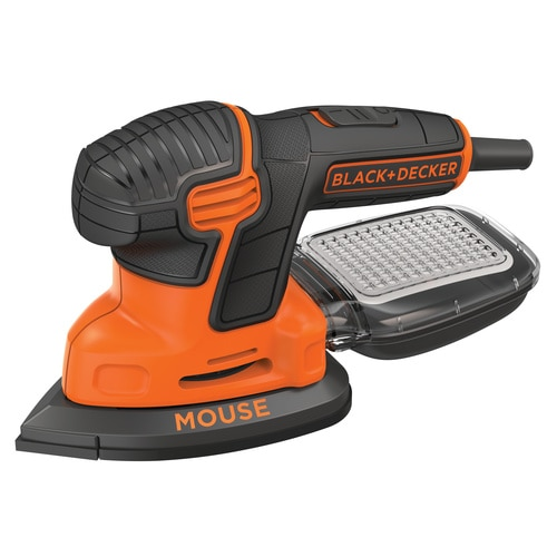 Black and Decker - 110W Next Generation Mouse detailschuurmachine met accessoires in softbag - KA2000