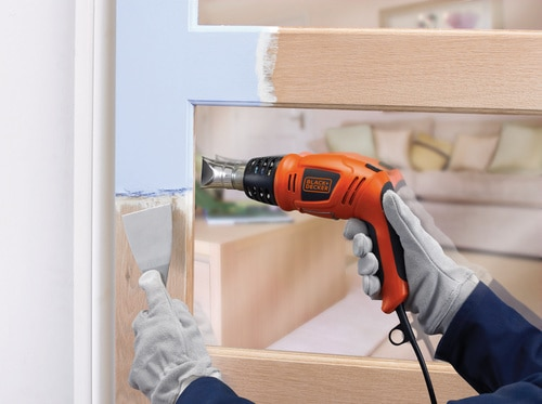 Black and Decker - 1800W Heteluchtpistool met draaibare handgreep - KX1693