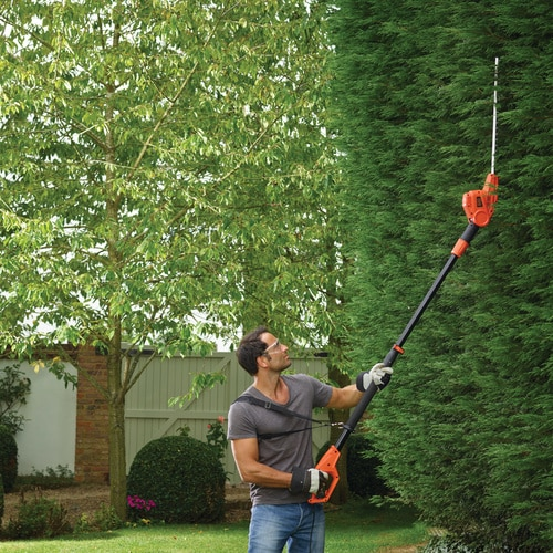 Black and Decker - 550W 51cm Heggenschaar met telescopische steel - PH5551