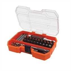 Black and Decker - 45delige boren en bitset - A7234