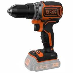 Black and Decker - 18V Brushless accuschroefboormachine  geleverd zonder accus en lader - BL186N