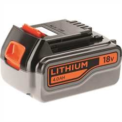 Black and Decker - 18V 40Ah Lithium Ion accu - BL4018