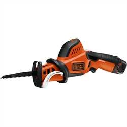 Black and Decker - 108V LithiumIon Snoeizaag met 3 zaagbladen - GKC108X