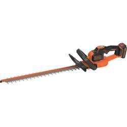 Black and Decker - 18V 20Ah LithiumIon Heggenschaar met  POWERCOMMAND  50CM - GTC18502PC