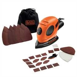Black and Decker - Mouse detailschuurmachine  15 accessoires - KA161BC