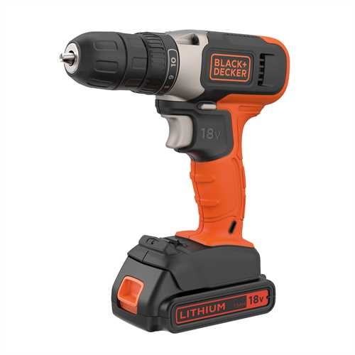 Black and Decker - 18V 15Ah Schroefboormachine - BCD001C1