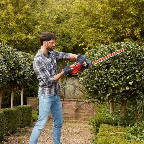 Black and Decker - 450W Heggenschaar  50cm - BEHT251