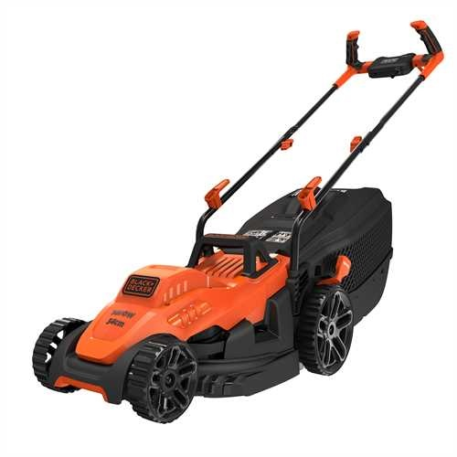 Black and Decker - 1400W 34cm Grasmaaier met Bikehandle handgreep - BEMW461BH