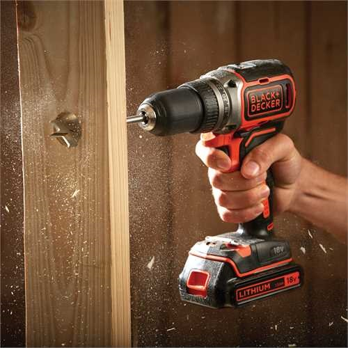 Black and Decker - 18V Brushless accuschroefboormachine - BL186K
