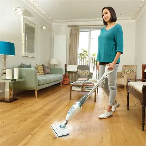 Black and Decker - 1300W steammop - FSM1605