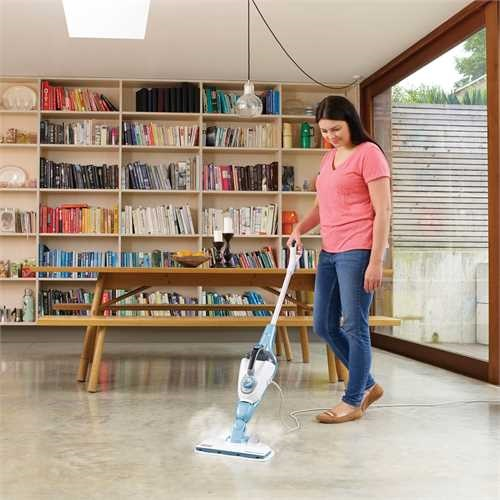 Black and Decker - 1300 11IN1 Steammop met SteaMitt - FSMH13101SM