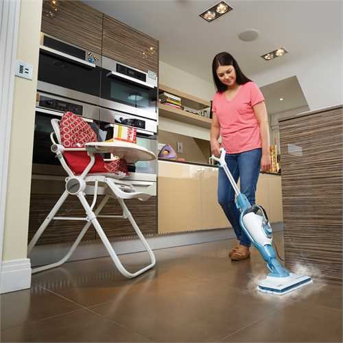 Black and Decker - 1300W 15IN1 Steammop met SteaMitt - FSMH13151SM