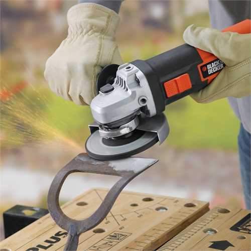 Black and Decker - 900W 115mm Haakse Slijper - KG901