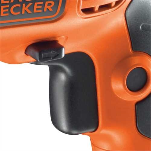Black and Decker - Perceuse  percussion 650W - KR654CRESK