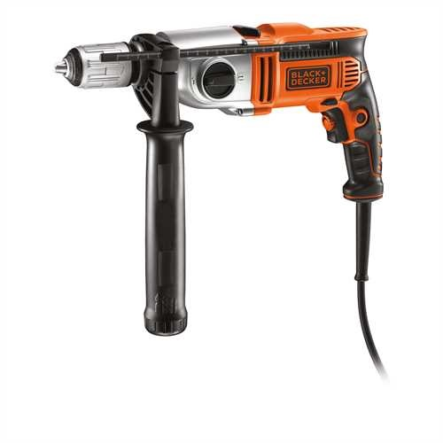 Black and Decker - 910W Klopboormachine met 2 snelheden - KR911K