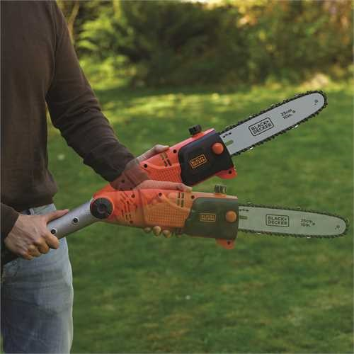 Black and Decker - 800W 25cm Kettingzaag op telescopische steel - PS7525