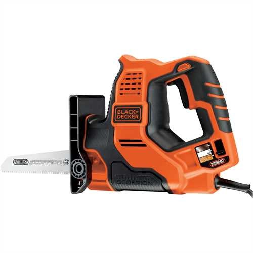 Black and Decker - 500W Scorpion Multizaag met AutoSelect - RS890K