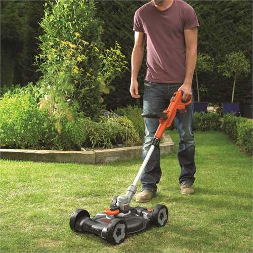 Black and Decker - 18V 20Ah LithiumIon 3IN1 Grastrimmer - STC1820CM